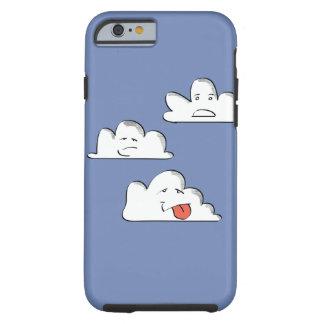 Funda Resistente iPhone 6 Nubes locas