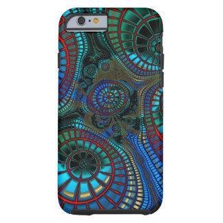 Funda Resistente iPhone 6 Onda de abstracción del fractal