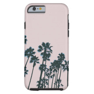 Funda Resistente iPhone 6 Palmas rosadas