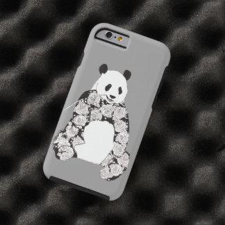 Funda Resistente iPhone 6 Panda que come el ejemplo de bambú