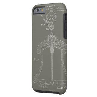Funda Resistente iPhone 6 Patente rotatoria del yugo de Meneely Bell - caso