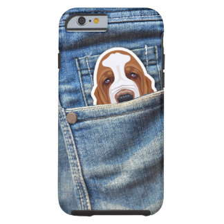 Funda Resistente iPhone 6 Perro en mi bolsillo