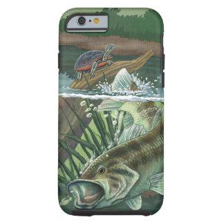 Funda Resistente iPhone 6 Pesca de perca americana