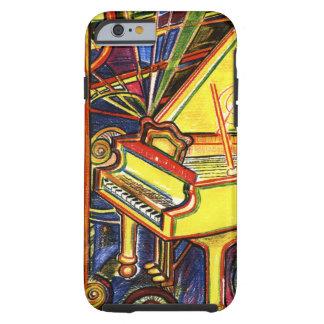 Funda Resistente iPhone 6 Piano de cola colorido