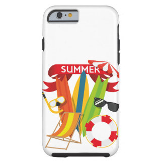 Funda Resistente iPhone 6 Playa Watersports del verano