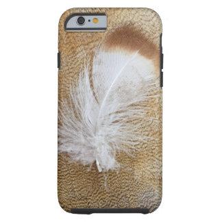 Funda Resistente iPhone 6 Plumas delicadas del ganso