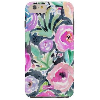 Funda Resistente iPhone 6 Plus Acuarela del JARDÍN de JEAN MARIA floral