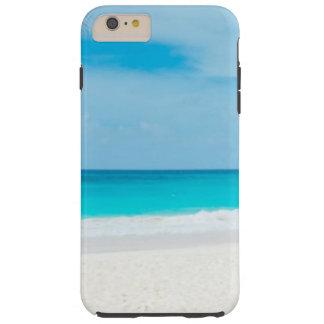 Funda Resistente iPhone 6 Plus Agua tropical de la turquesa de la playa
