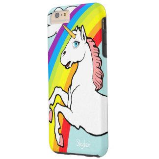 Funda Resistente iPhone 6 Plus Arco iris del unicornio