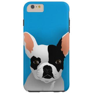 Funda Resistente iPhone 6 Plus Arte del dogo - dogo francés