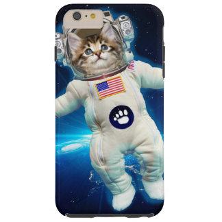 Funda Resistente iPhone 6 Plus Astronauta del gato - gato del espacio - amante