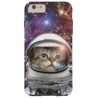 Funda Resistente iPhone 6 Plus Astronauta del gato - gato loco - gato