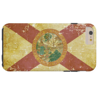 Funda Resistente iPhone 6 Plus Bandera patriótica de papel gastada del estado de