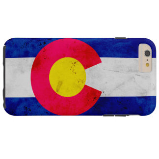 Funda Resistente iPhone 6 Plus Bandera patriótica del estado de Colorado del