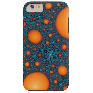 Funda Resistente iPhone 6 Plus Burbujas anaranjadas