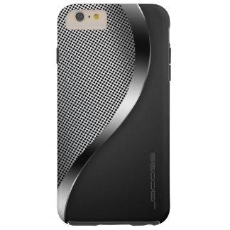 Funda Resistente iPhone 6 Plus caja oscura con la placa y los tornillos