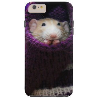 Funda Resistente iPhone 6 Plus Caso duro más del iPhone 6 del ratón de Marty