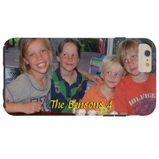 Funda Resistente iPhone 6 Plus Caso más del iPhone 6 de la foto con nombre