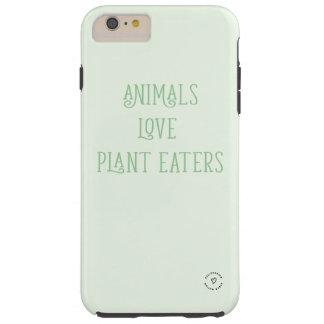 """FUNDA RESISTENTE iPhone 6 PLUS  """"COMEDORES DE LA PLANTA DEL AMOR DE LOS ANIMALES """""""