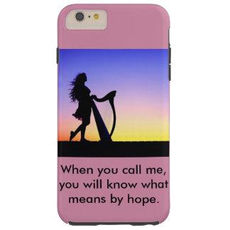 Funda Resistente iPhone 6 Plus Cuando usted me llama, usted sabrá qué significa