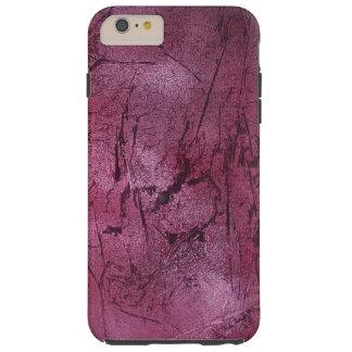 Funda Resistente iPhone 6 Plus cubierta magenta del teléfono del crujido