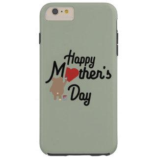 Funda Resistente iPhone 6 Plus Día de madres feliz Zg6w3