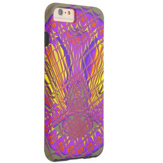 Funda Resistente iPhone 6 Plus Diseño colorido asombroso del modelo del ciruelo