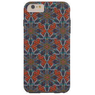 Funda Resistente iPhone 6 Plus Diseño floral del modelo del extracto de la
