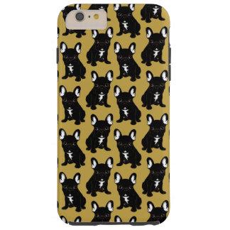 Funda Resistente iPhone 6 Plus Dogo francés Brindle