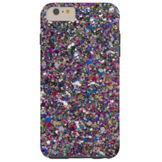 Funda Resistente iPhone 6 Plus El brillo femenino chispea caso más del iPhone 6