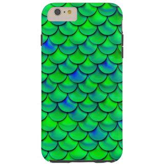 Funda Resistente iPhone 6 Plus Escalas azulverdes de Falln