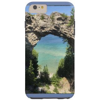 Funda Resistente iPhone 6 Plus foto de la caja del teléfono del océano y del