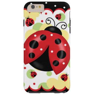 Funda Resistente iPhone 6 Plus iPhone 6/6S de la mariquita más la caja dura del