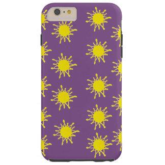 Funda Resistente iPhone 6 Plus iPhone positivo 6/6s del arte de Sun más, duro