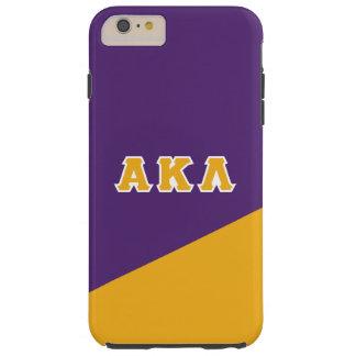 Funda Resistente iPhone 6 Plus Letras alfa del Griego de la lambda el | de Kappa