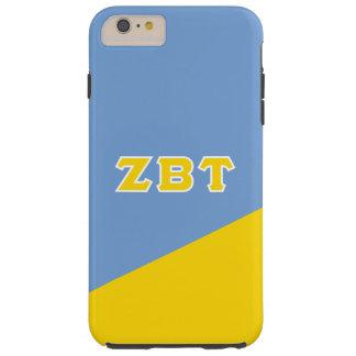 Funda Resistente iPhone 6 Plus Letras beta del Griego del Tau el   de la zeta
