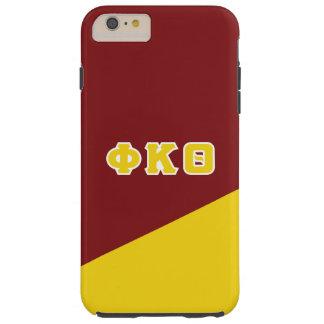 Funda Resistente iPhone 6 Plus Letras del Griego de la theta el   de Kappa de la