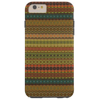 Funda Resistente iPhone 6 Plus Modelo azteca tribal del vintage