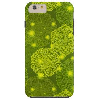 Funda Resistente iPhone 6 Plus Modelo de lujo floral de la mandala