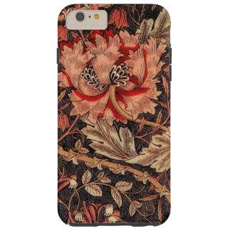 Funda Resistente iPhone 6 Plus Modelo del vintage de la madreselva de William