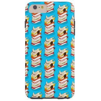 Funda Resistente iPhone 6 Plus Noche japonesa del sushi para el dogo francés