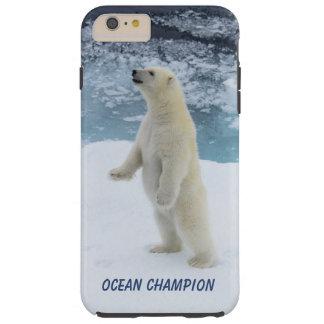 Funda Resistente iPhone 6 Plus Oso polar derecho