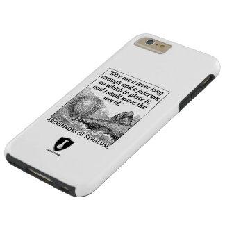 Funda Resistente iPhone 6 Plus Palanca de Arquímedes