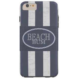 Funda Resistente iPhone 6 Plus Tema rayado intrépido del vago de la playa