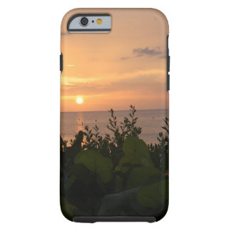 Funda Resistente iPhone 6 Puesta del sol de la playa de Bonita