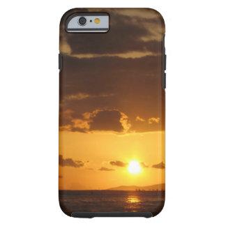 Funda Resistente iPhone 6 Puesta del sol de Waikiki