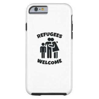 Funda Resistente iPhone 6 Recepción de los refugiados