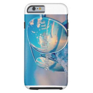 Funda Resistente iPhone 6 Stephon y caja del teléfono de las gafas de sol de