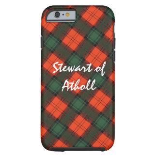 Funda Resistente iPhone 6 Stewart del tartán escocés de la falda escocesa de