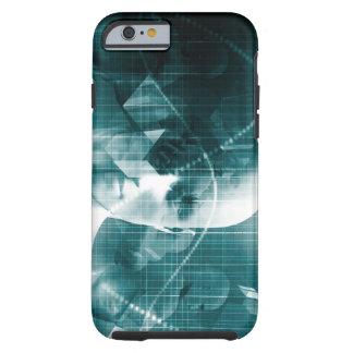 Funda Resistente iPhone 6 Tecnología futurista de la ciencia médica como
